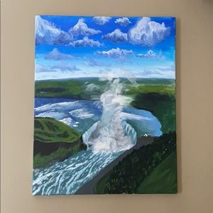 Niagara Falls Painting - one of a kind!